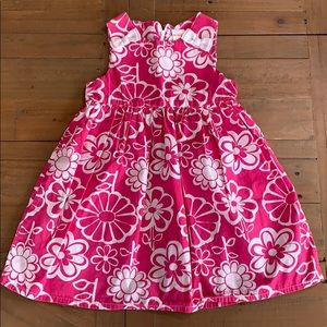 4/$20 Gymboree pink floral dress